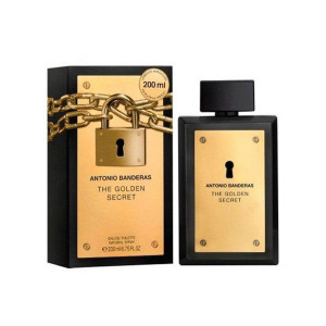 عطر مردانه آنتونیو باندراس مدل The Golden Secret حجم ۲۰۰ میلی لیتر
