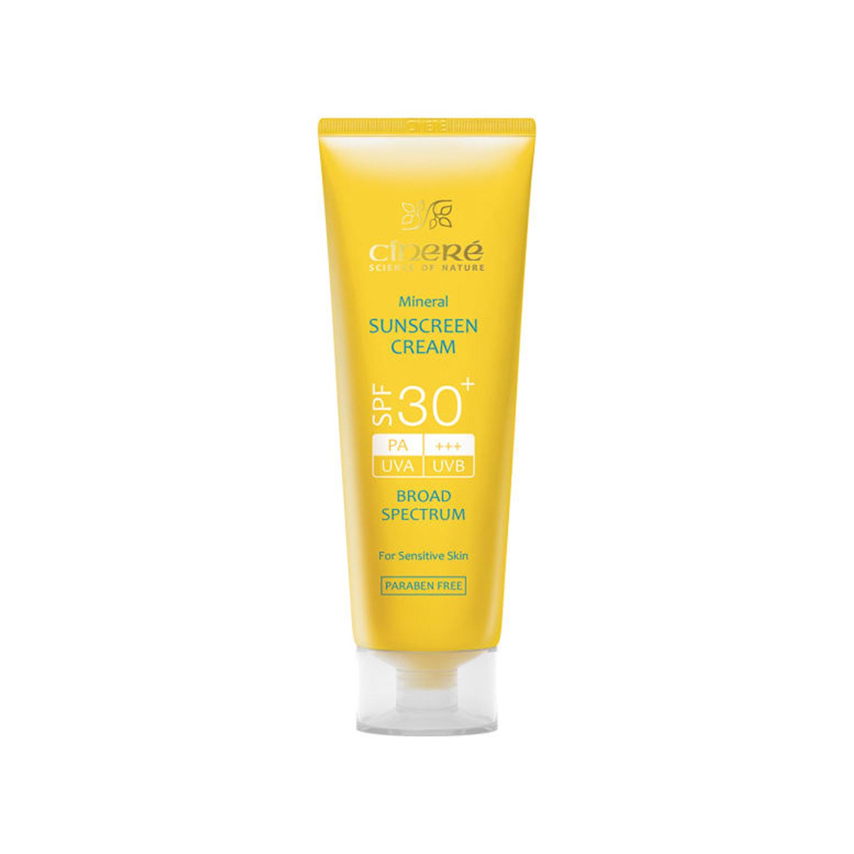 کرم ضد آفتاب سینره +SPF 30 حجم 50 میلی لیتر