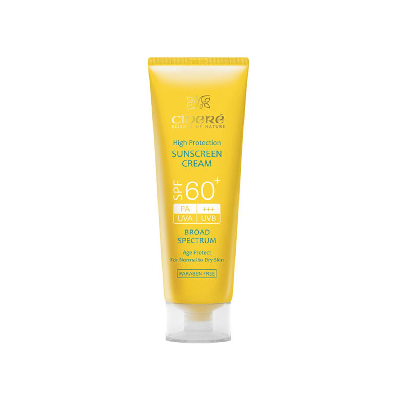 کرم ضد آفتاب سینره +SPF 60 حجم 50 میلی لیتر