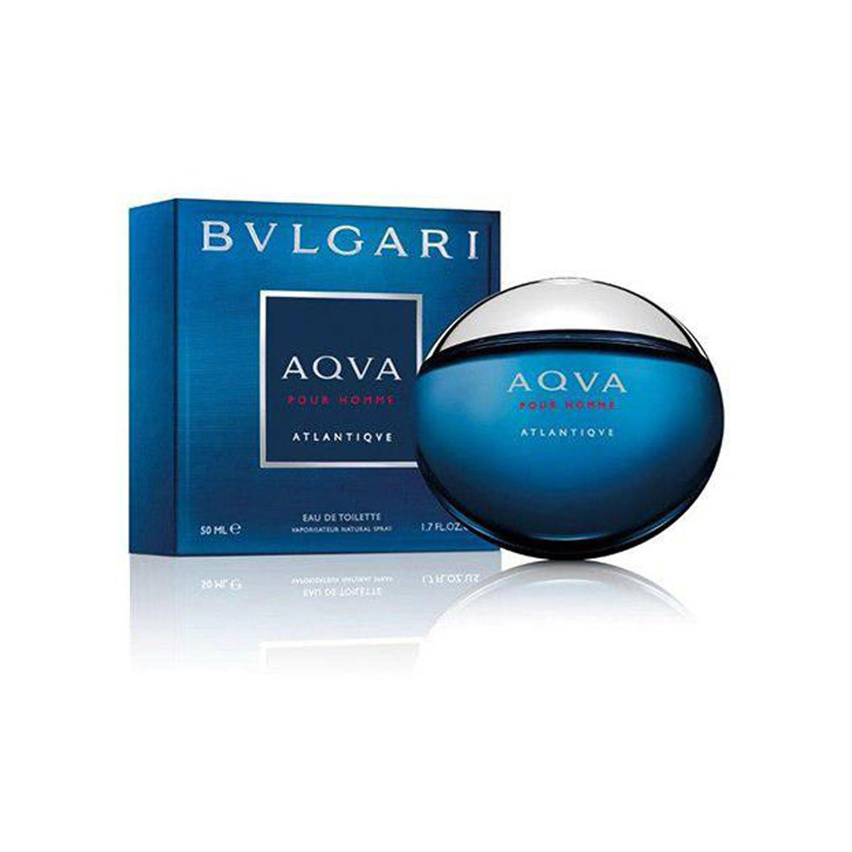 عطر مردانه بولگاری مدل Aqva Pour Homme Atlantiqve حجم ۱۰۰ میلی لیتر