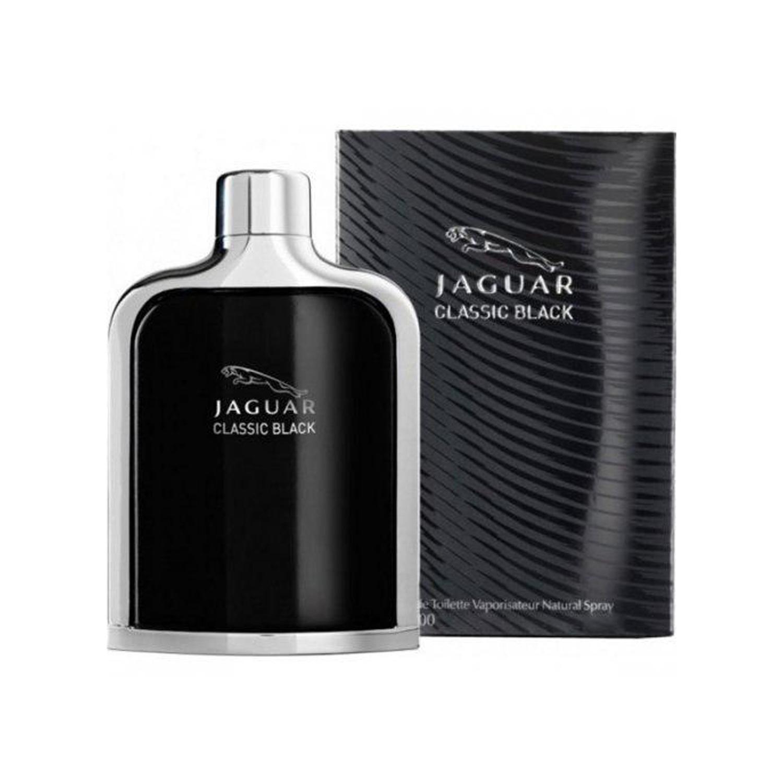 عطر مردانه جگوار مدل Classic Black حجم ۱۰۰ میلی لیتر
