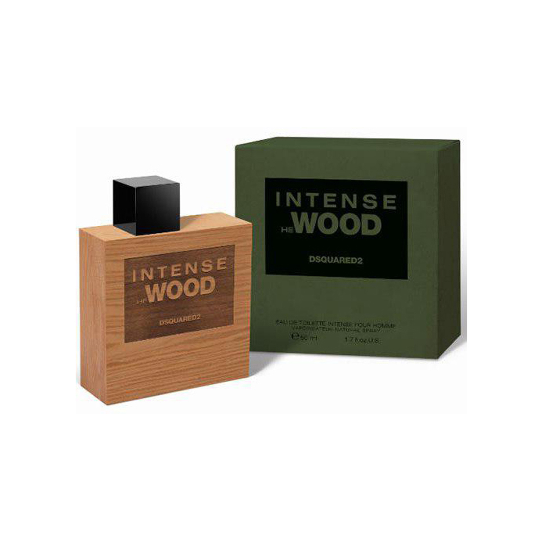 عطر مردانه دسکوارد2 مدل He Wood Intense حجم 100 میلی لیتر