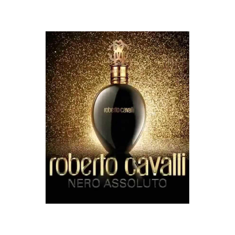 عطر زنانه روبرتو کاوالی مدل Nero Assoluto حجم 75میلی لیتر