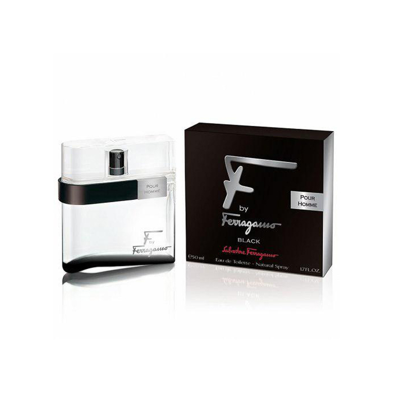 عطر مردانه سالواتوره فراگامو مدل F by Ferragamo Black حجم 100 میلی لیتر