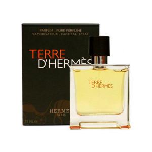 عطر مردانه هرمس مدل Terre d'Hermes Parfum حجم 75 میلی لیتر