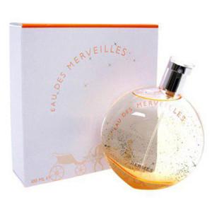 عطر زنانه هرمس مدل Eau des Merveilles حجم 100 میلی لیتر