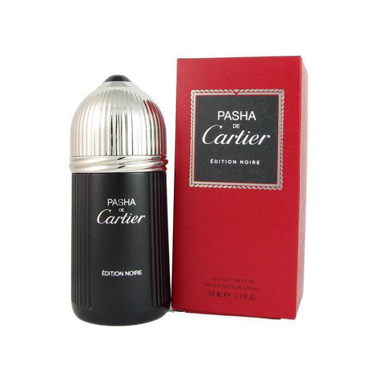 عطر مردانه کارتیر مدل Pasha de Cartier Edition Noire حجم 100 میلی لیتر