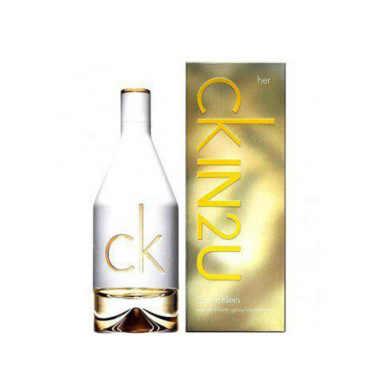 عطر زنانه کلوین کلین مدل CK IN2U for Women حجم 100 میلی لیتر