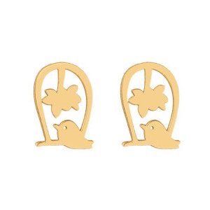 گوشواره طلا زنانه مدل E-SG08