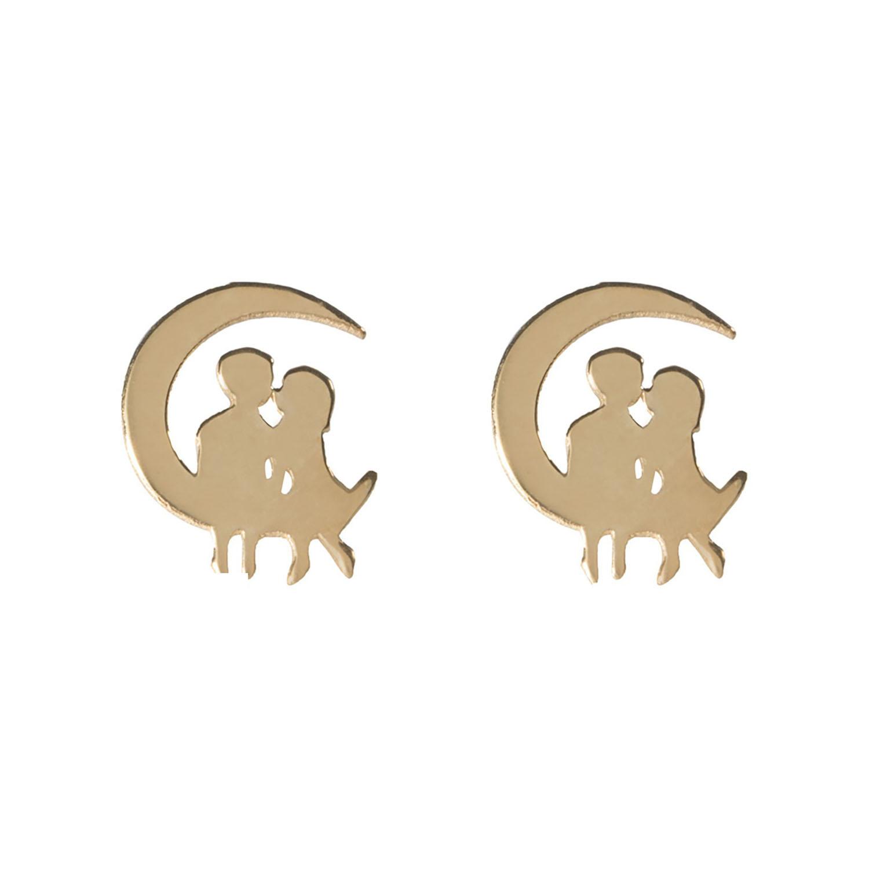 گوشواره طلا زنانه مدل EG87