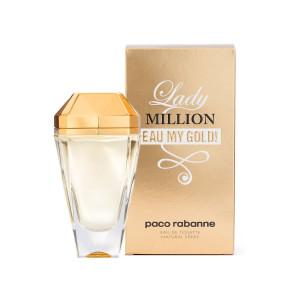 عطر زنانه پاکو رابان مدل !Lady Million Eau My Gold حجم 80 میلی لیتر