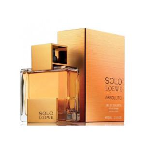 عطر مردانه لووه مدل Solo Loewe Absoluto حجم 125 میلی لیتر