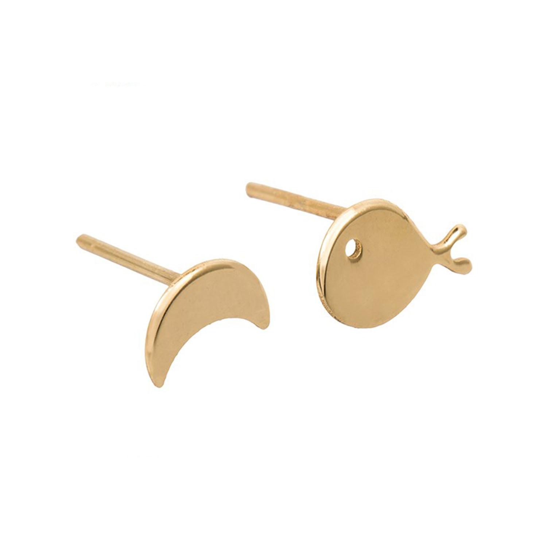 گوشواره طلا زنانه مدل EG16