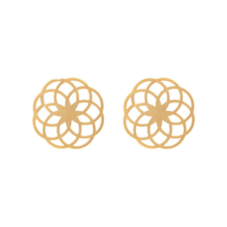 گوشواره طلا زنانه مدل E-SG35
