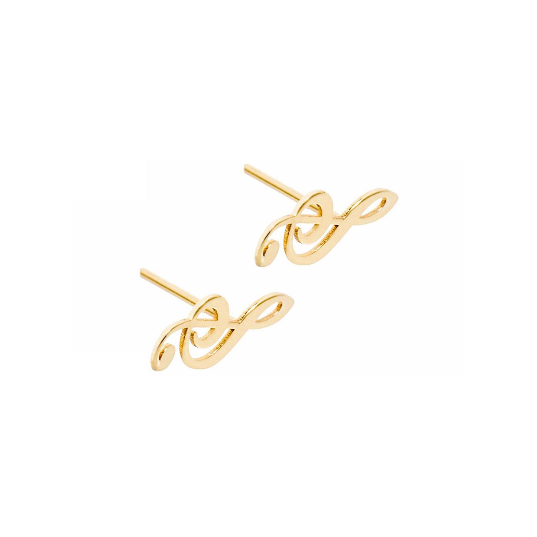 گوشواره طلا زنانه مدل EG07