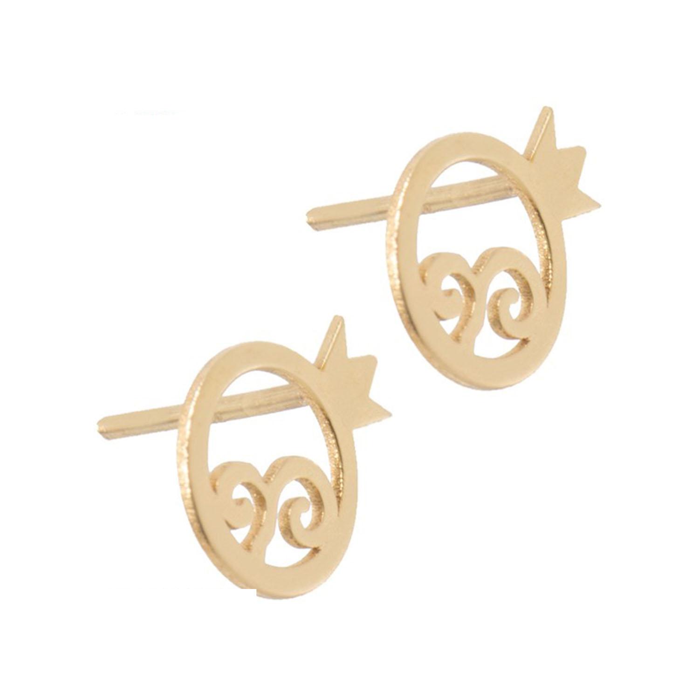 گوشواره طلا زنانه مدل EG14