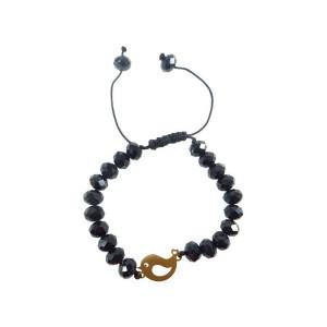 دستبند طلا زنانه مدل NZ-589-S