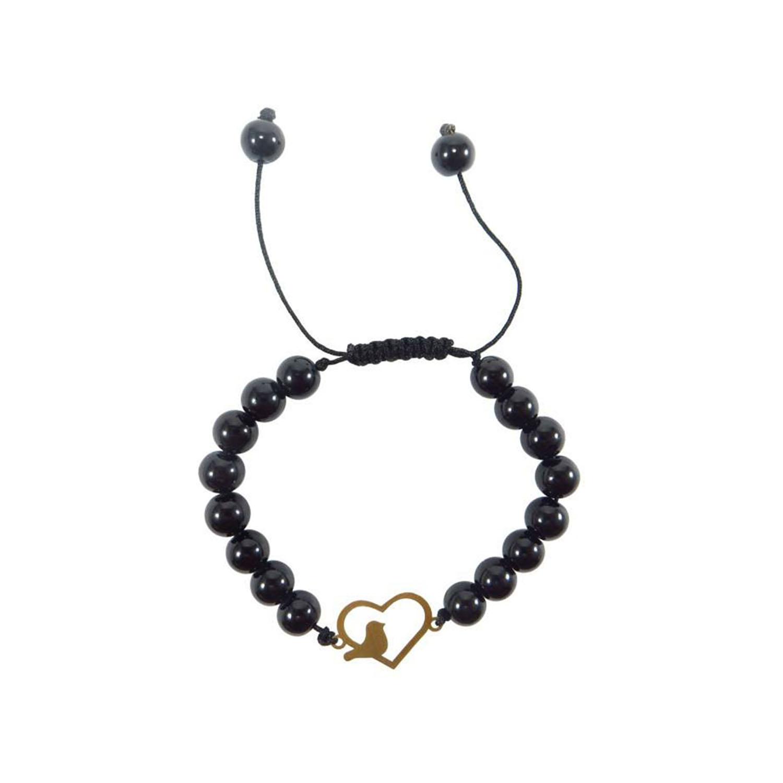 دستبند طلا زنانه مدل NZ-596-S