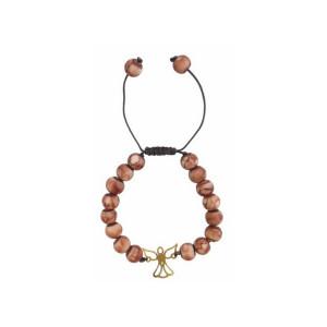 دستبند طلا زنانه مدل NZ-685-S