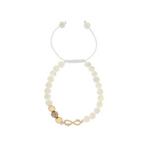 دستبند طلا زنانه مدل آرت MGA-D0006