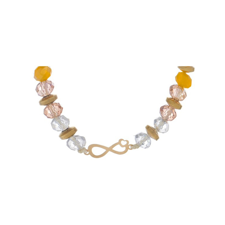 دستبند طلا زنانه مدل آرت MGA-D0008