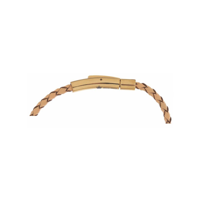 دستبند طلا زنانه مدل MGL-D0205