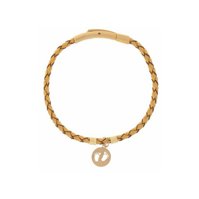 دستبند طلا زنانه مدل MGL-D0050