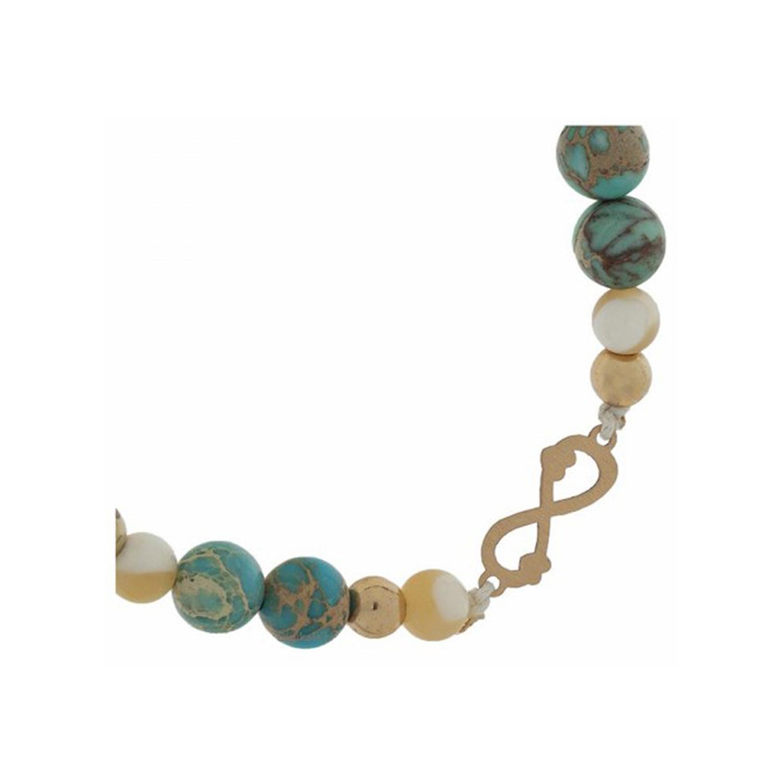 دستبند طلا زنانه مدل MGA-D0173