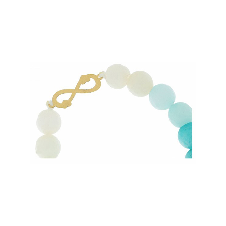 دستبند طلا زنانه مدل MGA-D0217
