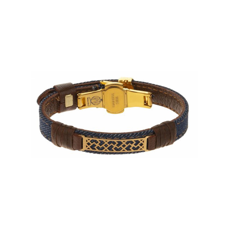 دستبند طلا زنانه مدل MGJ-D0095