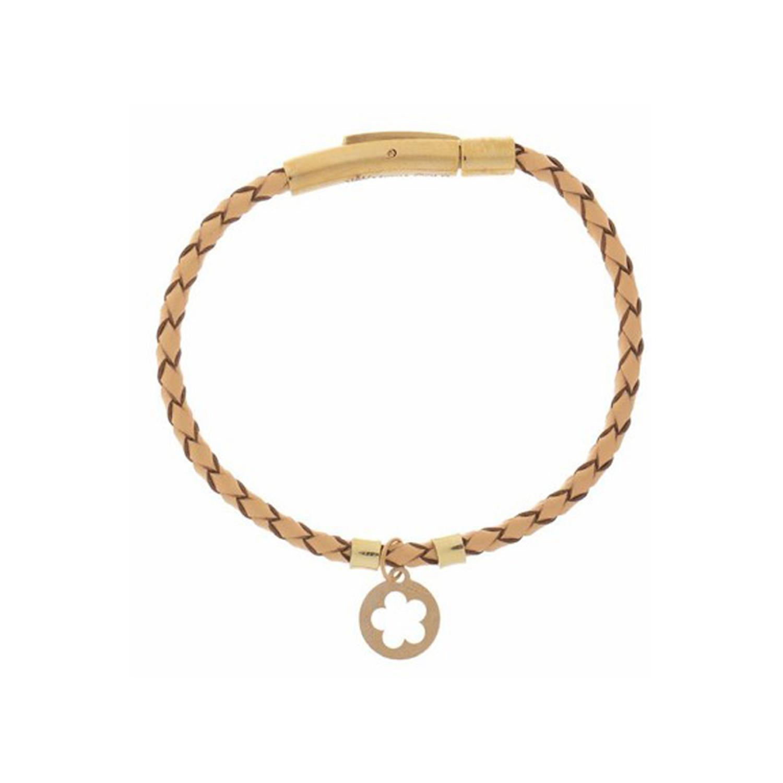 دستبند طلا زنانه مدل MGL-D0047