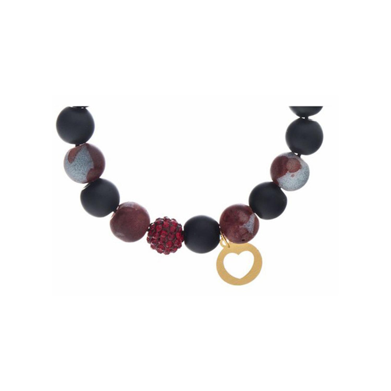 دستبند طلا زنانه مدل آرت MGA-D0010