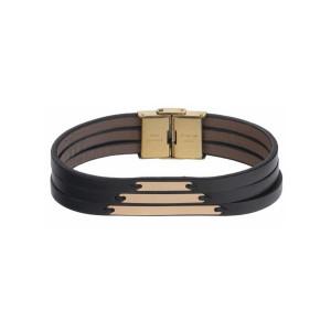 دستبند طلا مردانه مدل MGL-D0259
