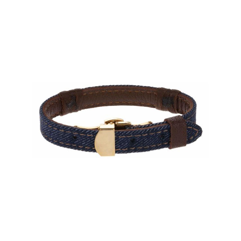 دستبند طلا مردانه مدل MGJ-D0081