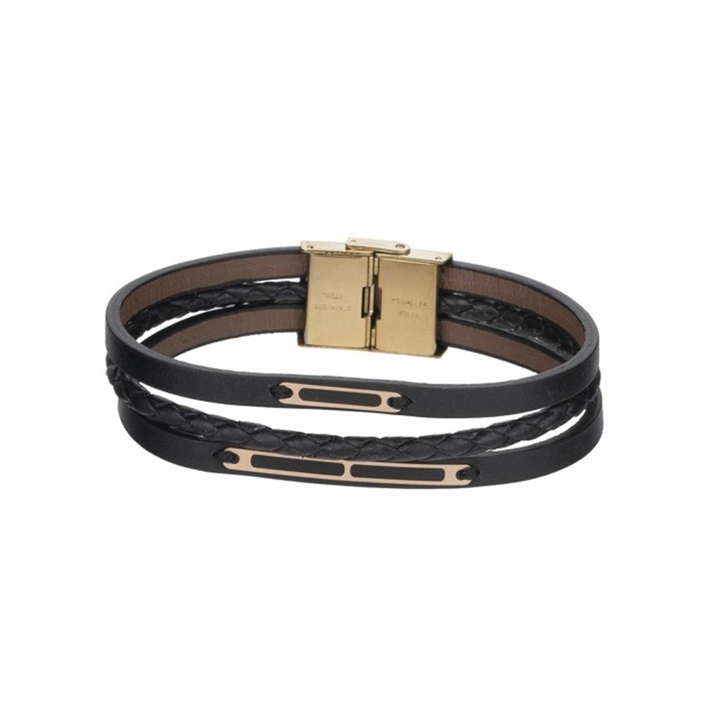 دستبند طلا مردانه مدل MGL-D0286