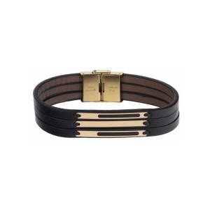 دستبند طلا مردانه مدل MGL-D0260