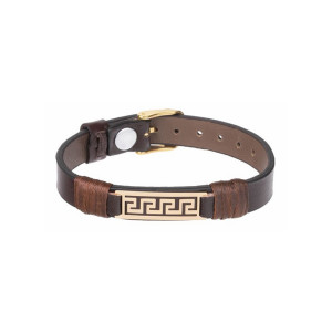 دستبند طلا مردانه مدل MGL-D0394