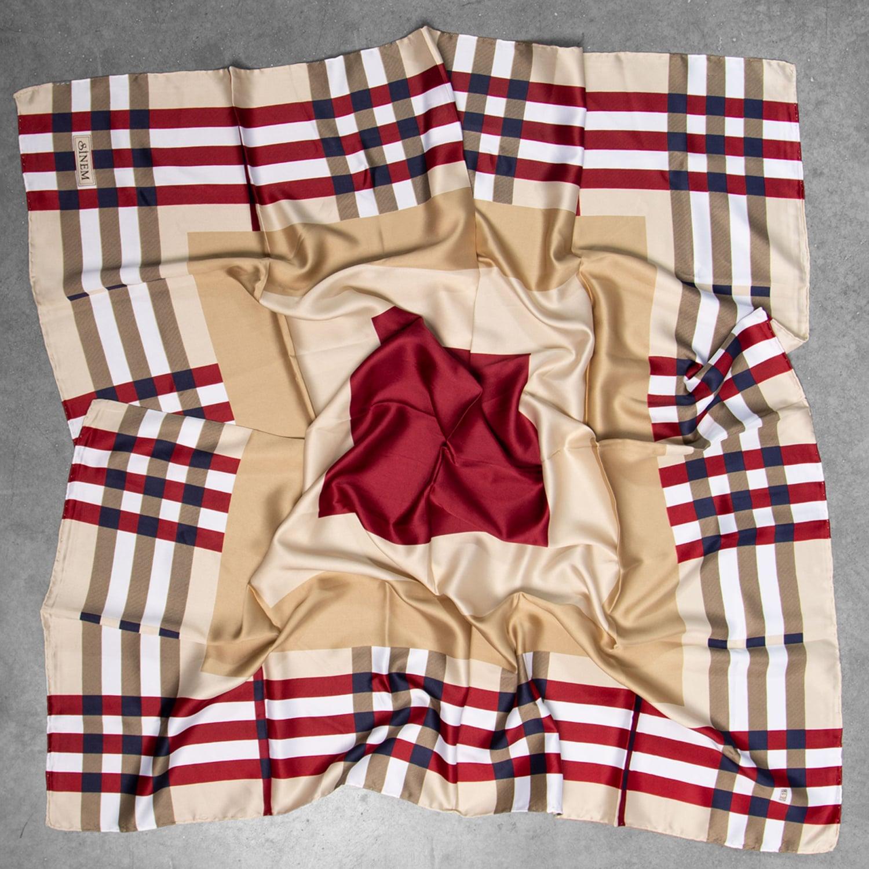 روسری ساتن زنانه LNZ 32