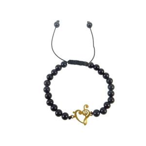 دستبند طلا زنانه مدل NZ-430-S