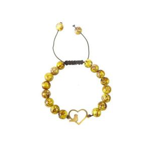 دستبند طلا زنانه مدل NZ-397-S