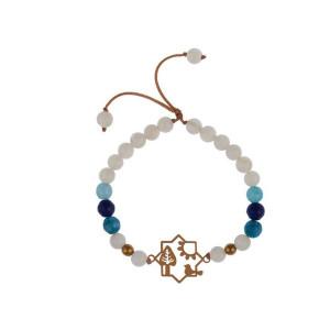 دستبند طلا زنانه مدل B082