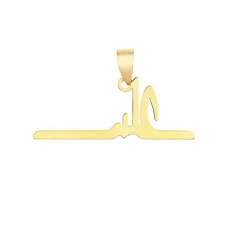 آویز طلا مردانه مدل MN0130