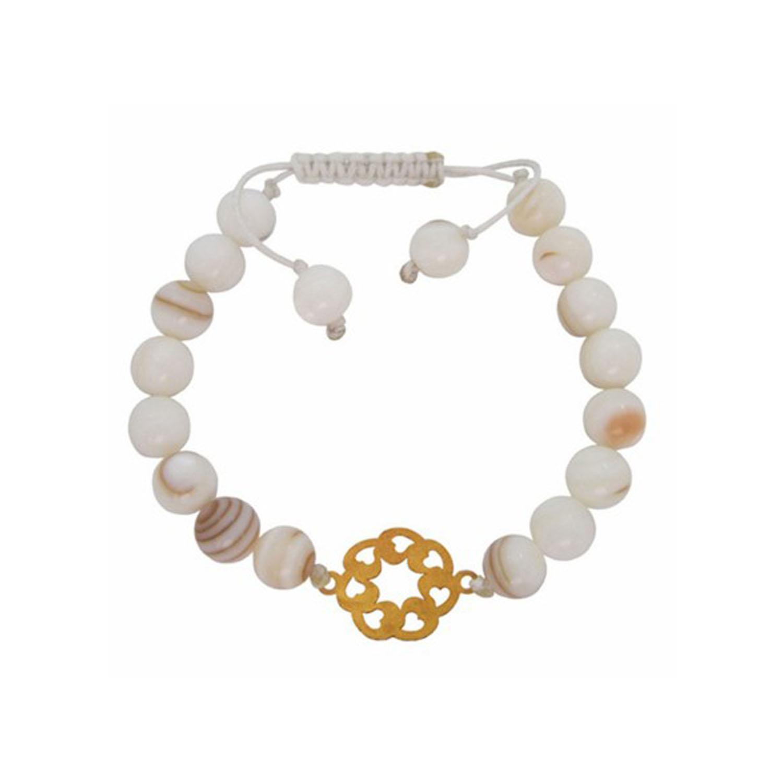 دستبند طلا زنانه مدل B-SG177