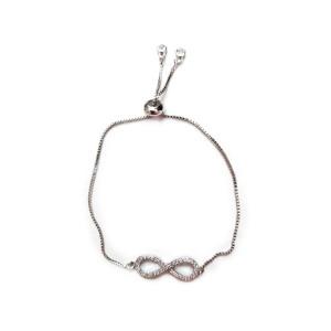 دستبند استیل زنانه مدل ZV 13
