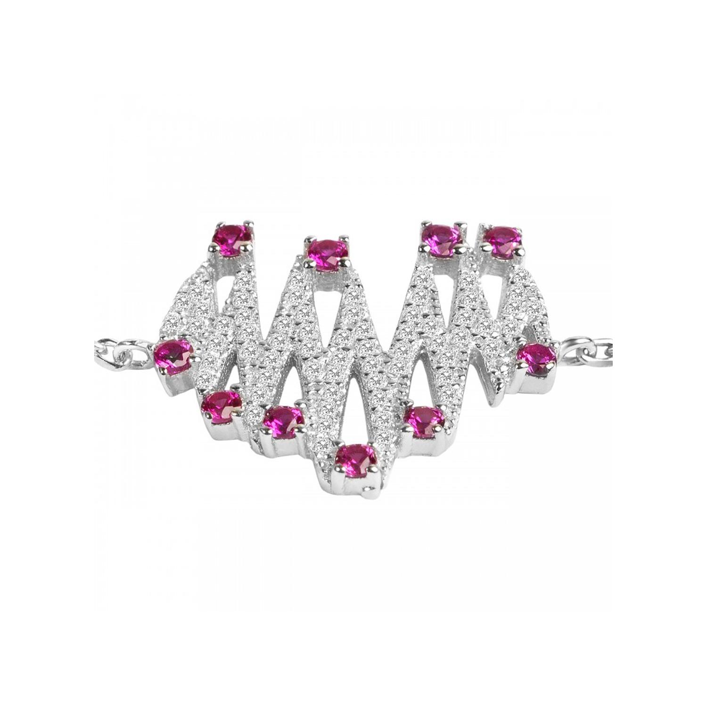 دستبند نقره زنانه اقلیمه کد DN429