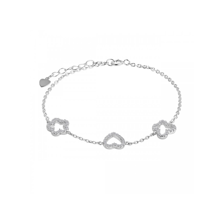 دستبند نقره زنانه اقلیمه کد DN434