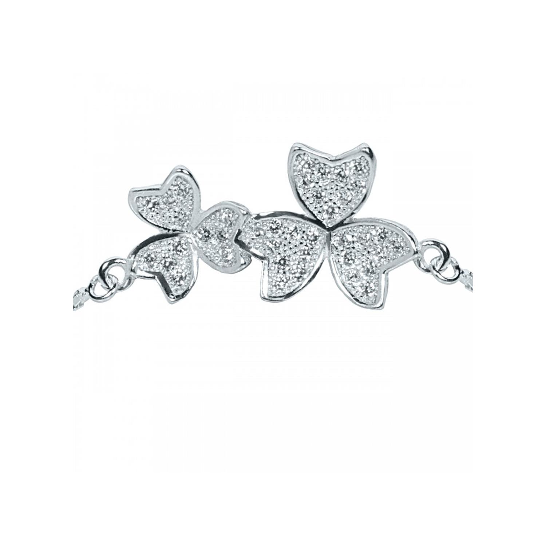 دستبند نقره زنانه اقلیمه کد DN335