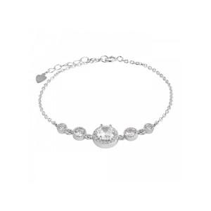 دستبند نقره زنانه اقلیمه کد DN432