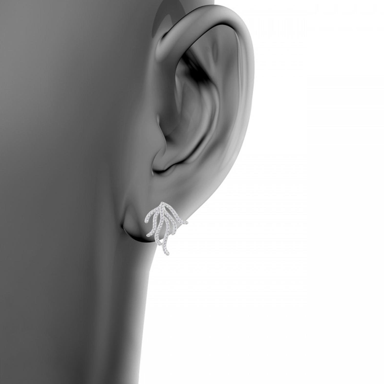 گوشواره نقره زنانه اقلیمه کد EN392