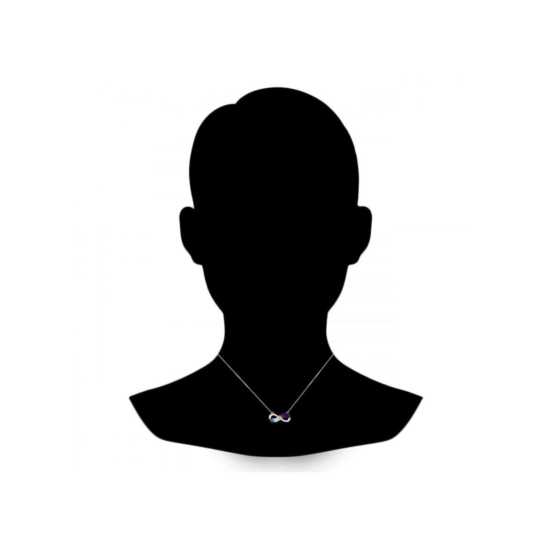 گردنبند نقره زنانه اقلیمه کد GN316